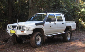4wd wreckers Hoddles Creek