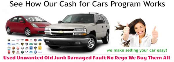 cash for car wrecking process