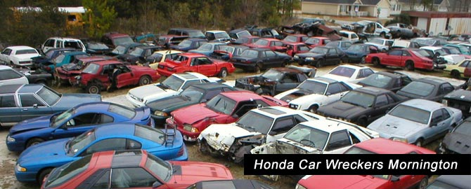Honda wreckers Mornington