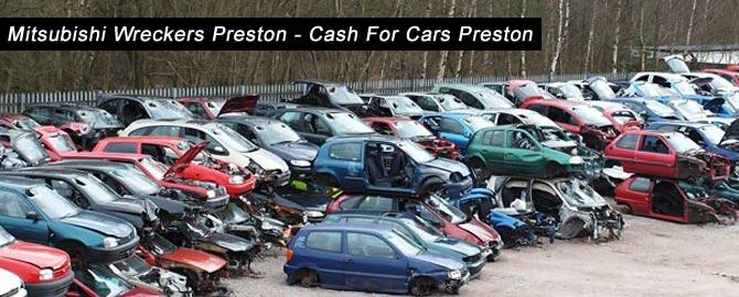 Mitsubishi wreckers Preston