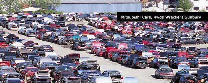 Mitsubishi wreckers Sunbury