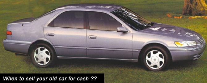 Sell My Old Car For Cash