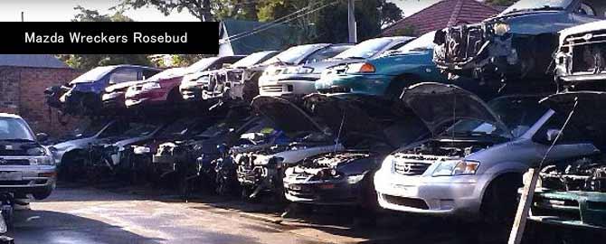 Mazda wreckers Rosebud