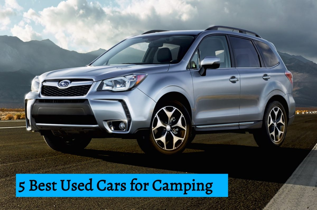 5 Best Used Cars for Camping